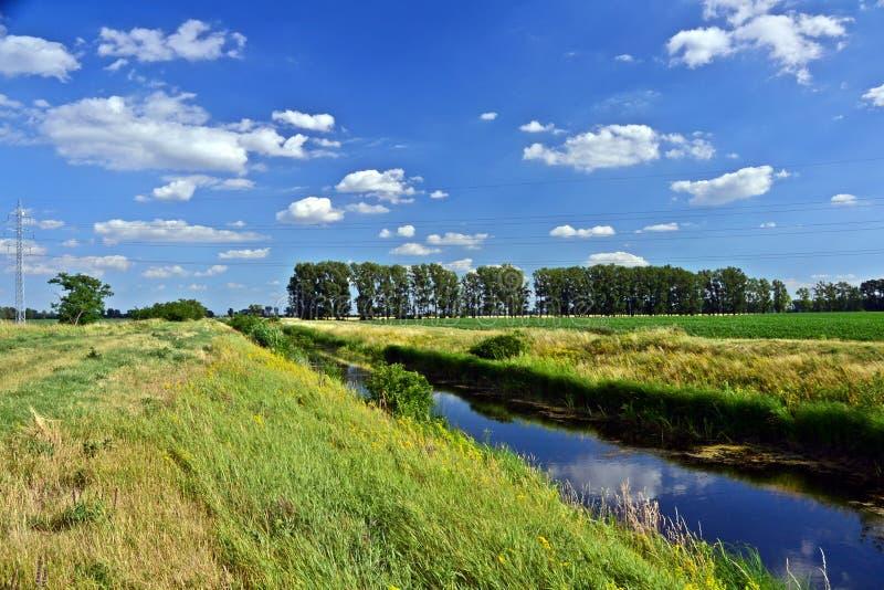 Bautiful-Landschaft im Sommer stockfoto
