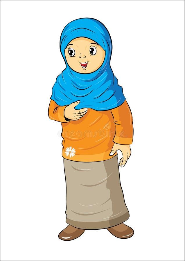 Bautiful muslimah στοκ φωτογραφία