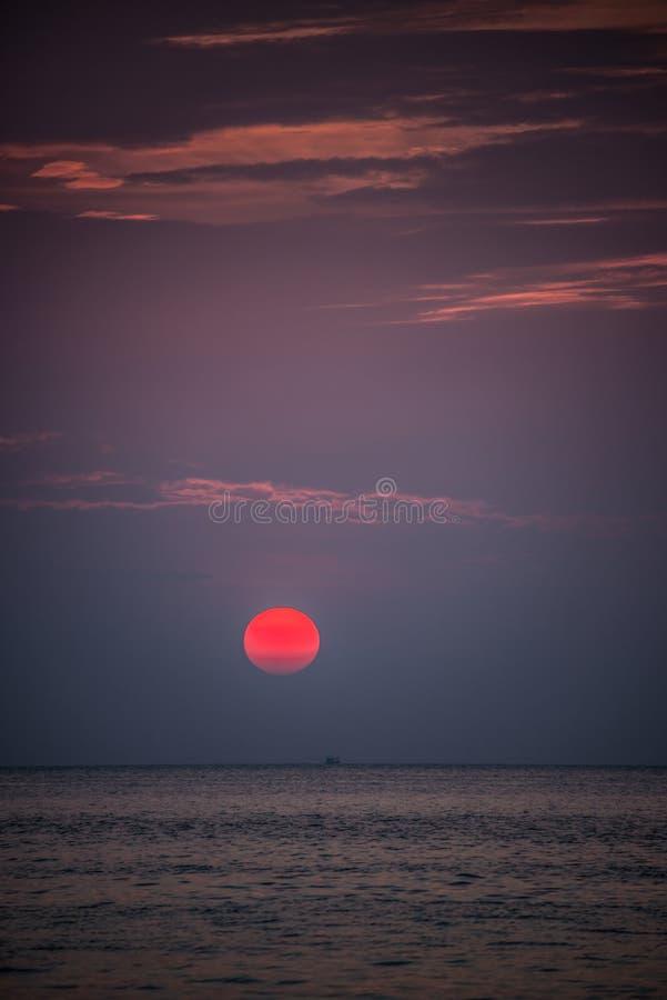 Free Bautiful Red Sunset. Koh Lipe Tropical Island. Thailand. Royalty Free Stock Photos - 34047958