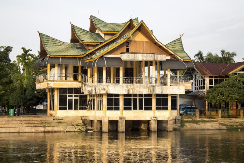 Bauty της επαρχίας κρατικού Riau Buluh Cina Kampar στοκ φωτογραφία