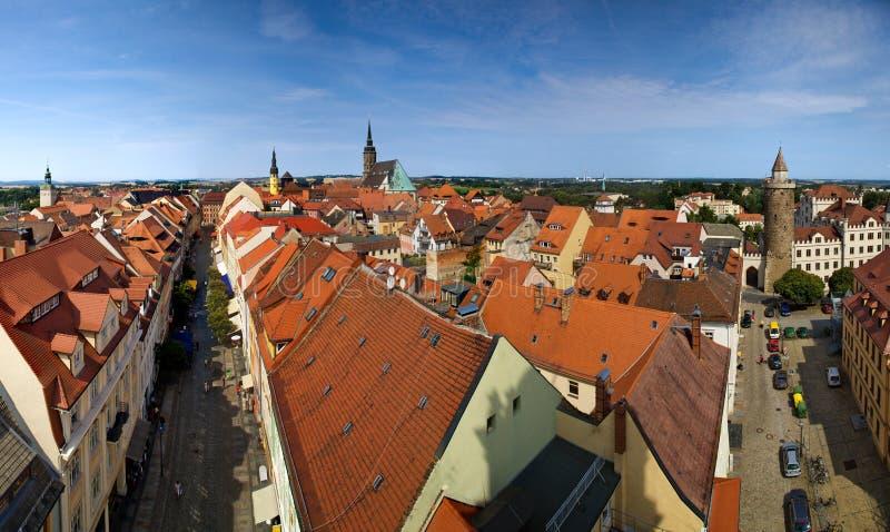 Bautzen City In Germany Panorama Stock Image