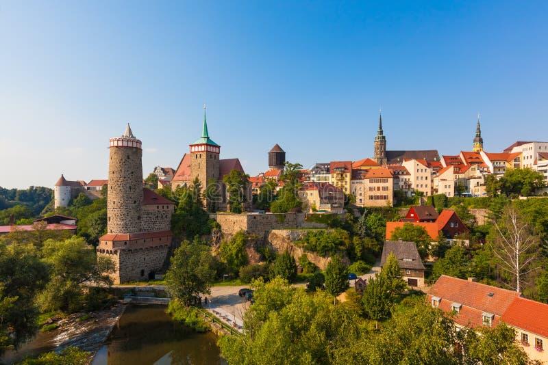 Bautzen, Górny Lusatia, Niemcy obrazy stock