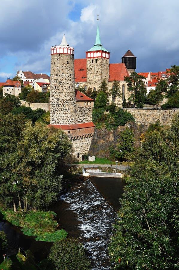 bautzen germany panorama arkivfoton