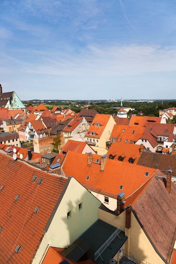 bautzen stad germany arkivfoton