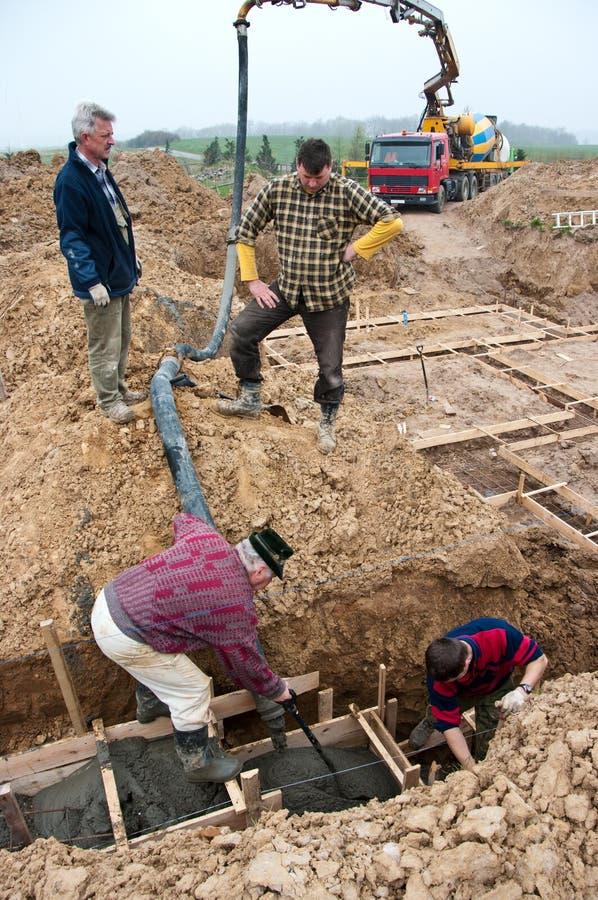 Bauunternehmen stockfoto