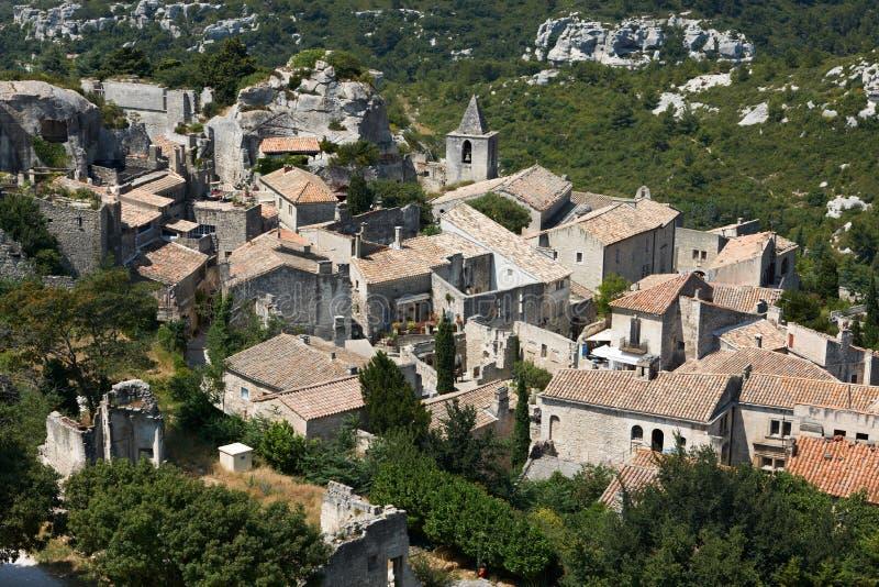 Download Baux de les普罗旺斯村庄 库存图片. 图片 包括有 法国, 中世纪, 镇痛药, 拱道, 布琼布拉 - 22351525