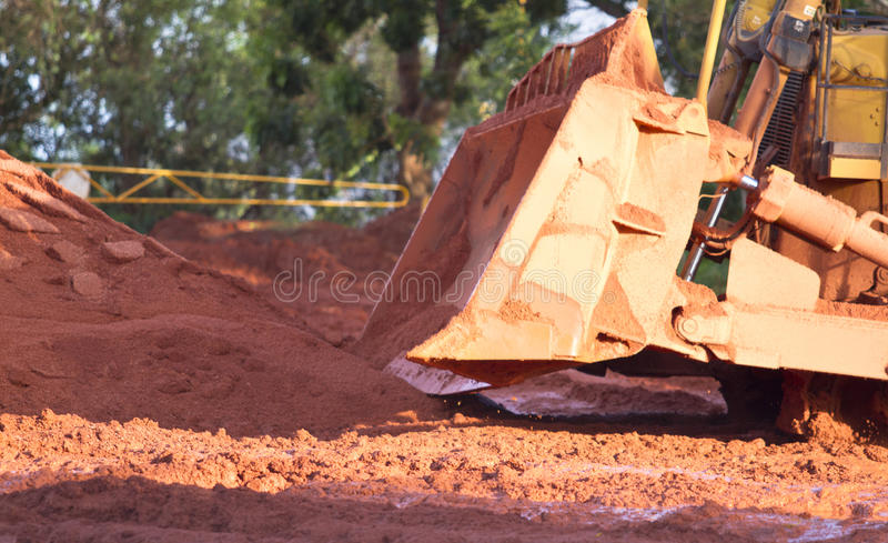 Bauxite mining stock photo  Image of industrial, irregular