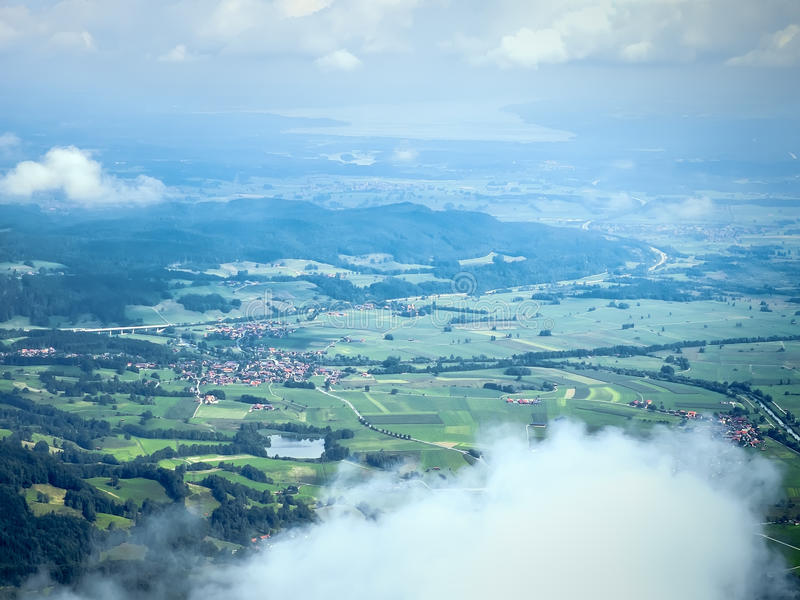 Download Bavaria from above stock image. Image of center, lake - 32931983