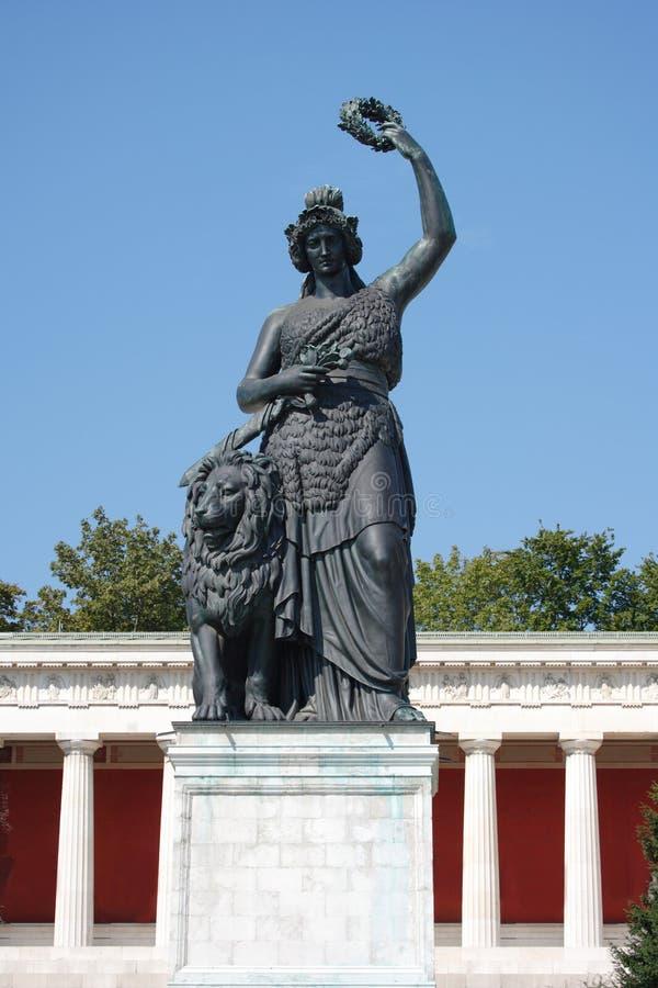 Free Bavaria Statue Munich Royalty Free Stock Photography - 3210867