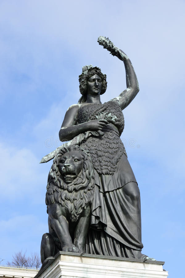 Download Bavaria Statue stock photo. Image of sightseeing, monumental - 31470926