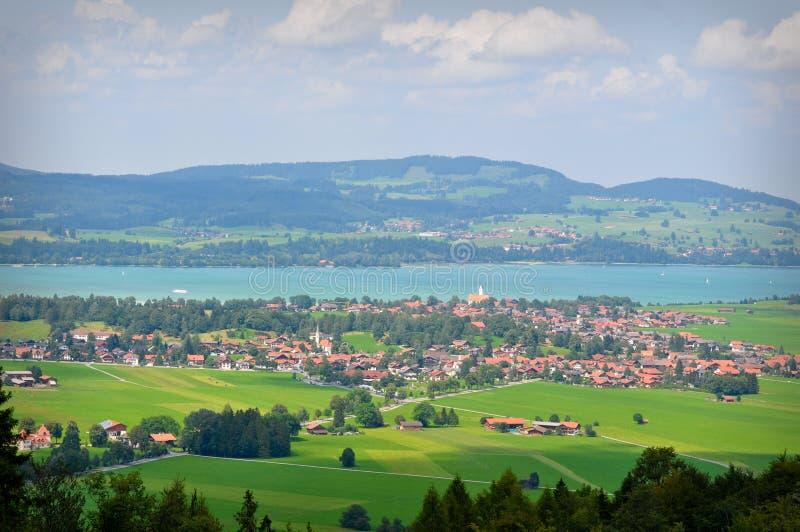 bavaria wsi Germany widok fotografia royalty free