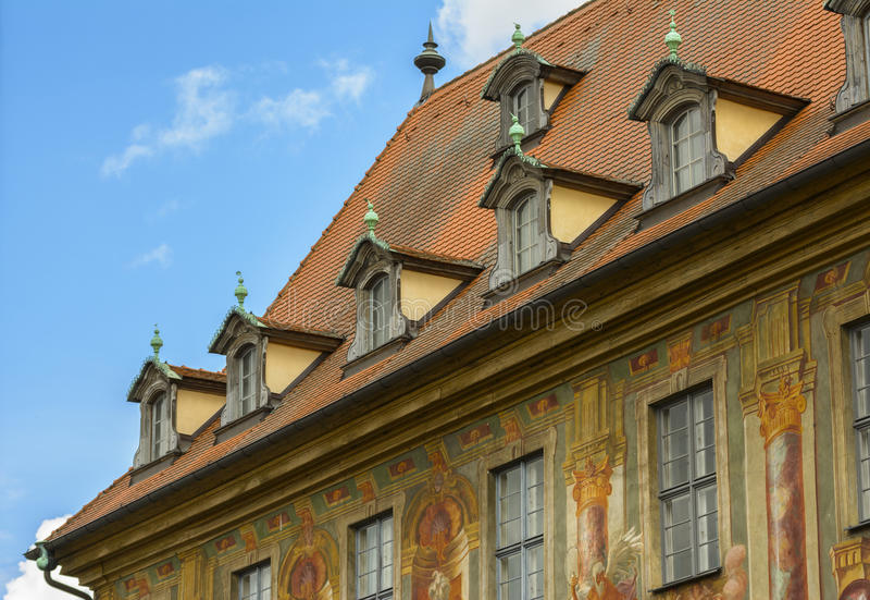 Bavarian architecture stock image