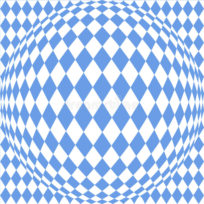 Bavarian background. Abstract background with a pattern of the Bavarian flag royalty free illustration