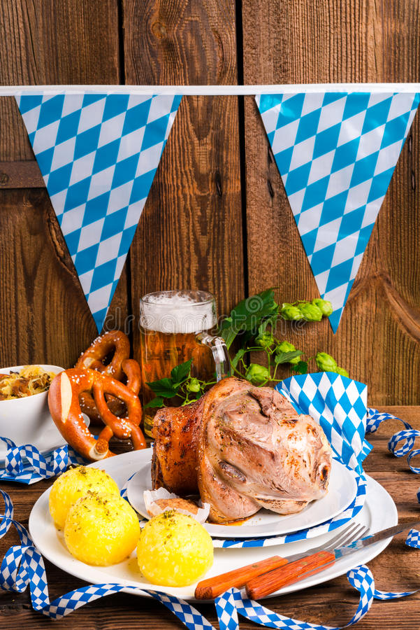 Bavarian beer. A fresh and tasty Bavarian beer royalty free stock images