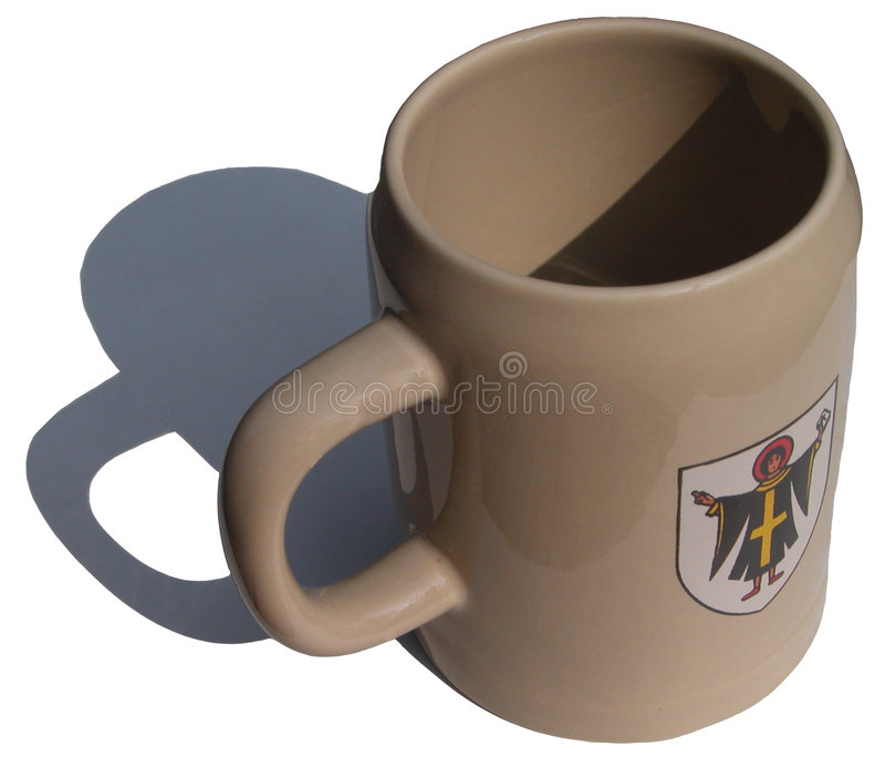 Bavarian cup royalty free stock photos