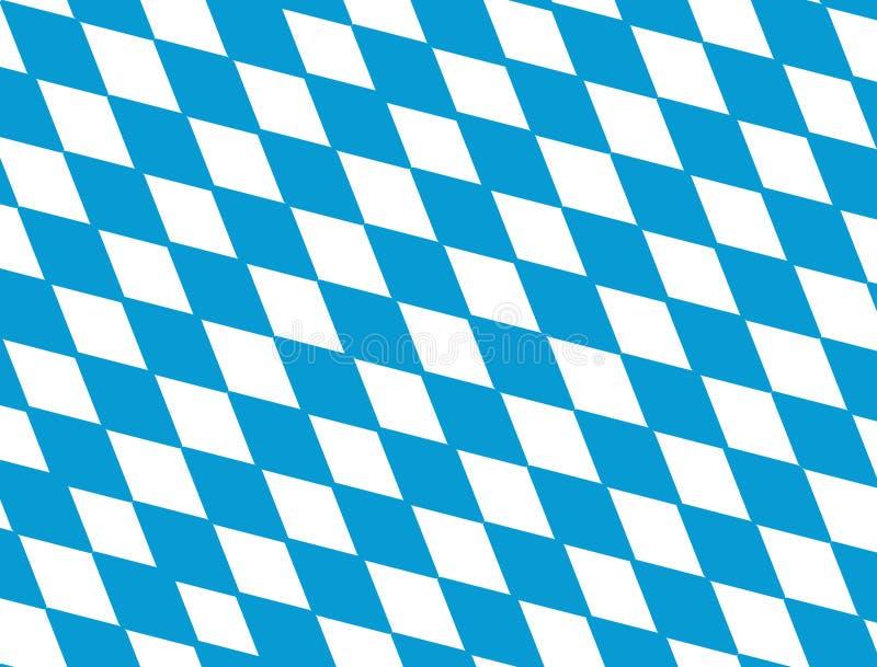 Bavarian flag. Vector illustration of a bavarian flag background royalty free illustration