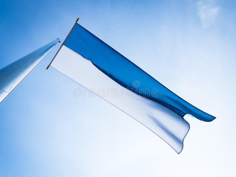 Bavarian Flag Royalty Free Stock Photography