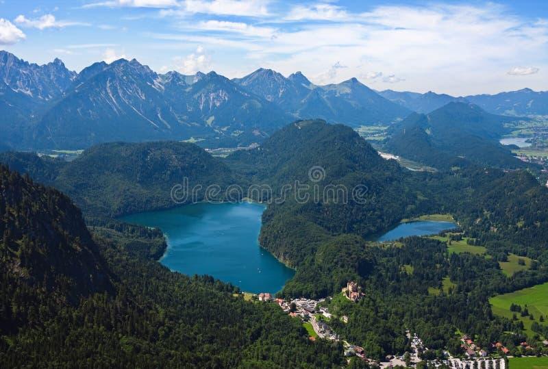 bavarian krajobraz zdjęcia royalty free
