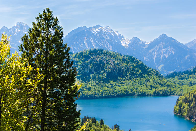 Bavarian landscape stock image
