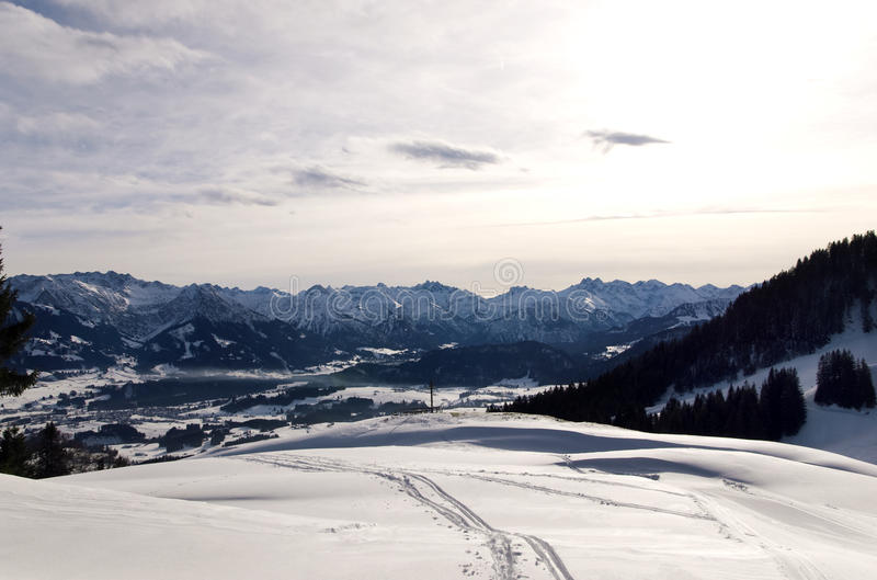 Download Bavarian mountains stock photo. Image of winter, alps - 12413710