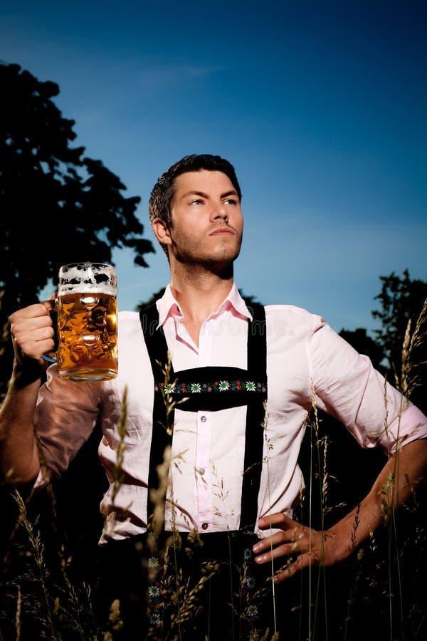 Bavarian oktoberfest royalty free stock photo