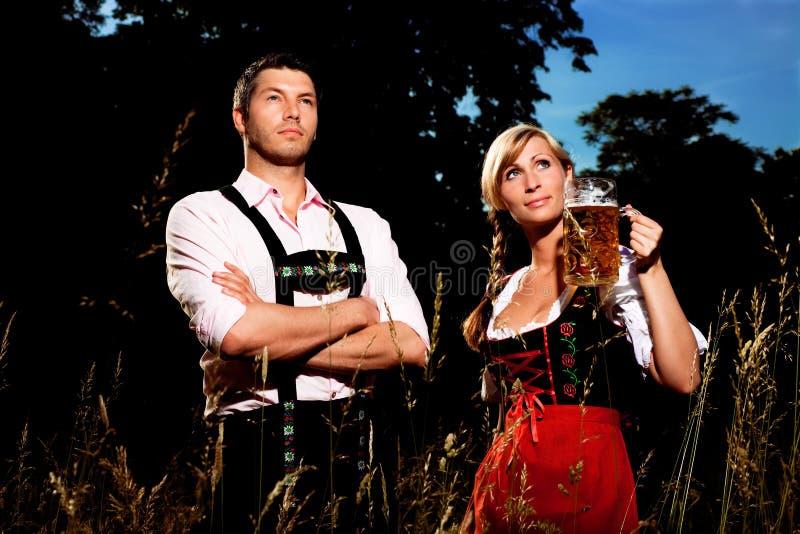 Bavarian oktoberfest stock images