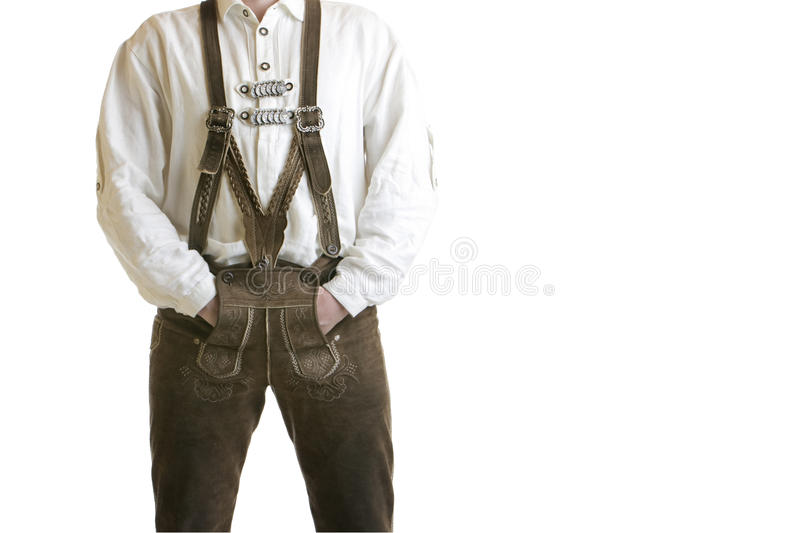Download Bavarian Oktoberfest Leather Trousers (Lederhose) Stock Photo - Image: 10994790