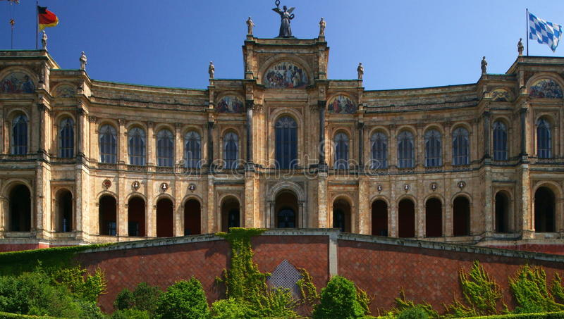 Download Bavarian Parliament stock photo. Image of munich, maximilianeum - 20259154