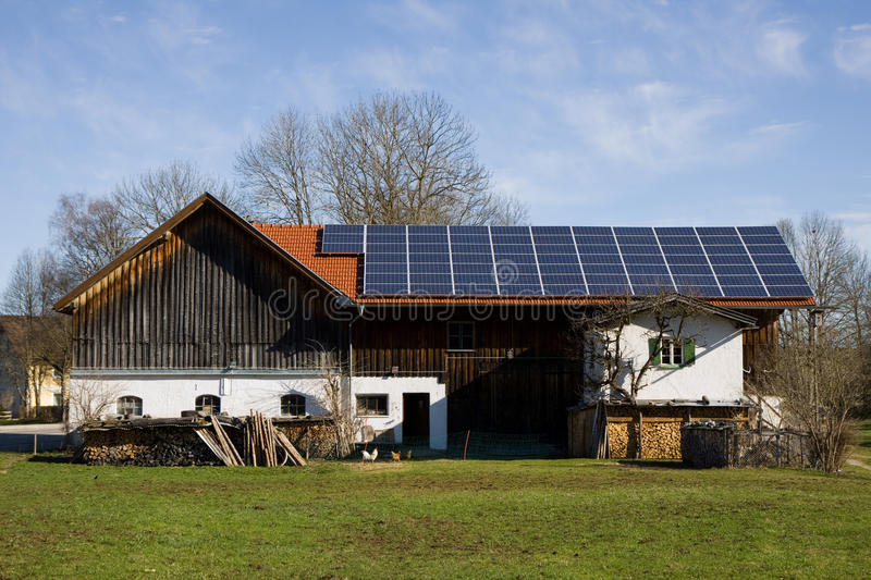 Bavarian photovoltaic stock images