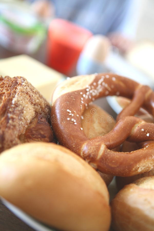 Download Bavarian pretzel Bread stock image. Image of yummy, nutrition - 16022605
