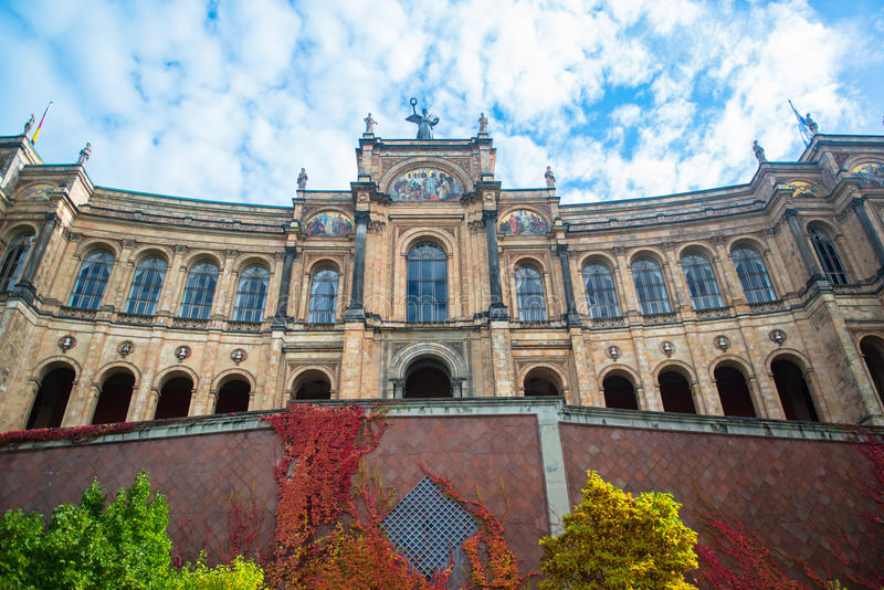 Bavarian State Parliament - Munich. Germany stock photos