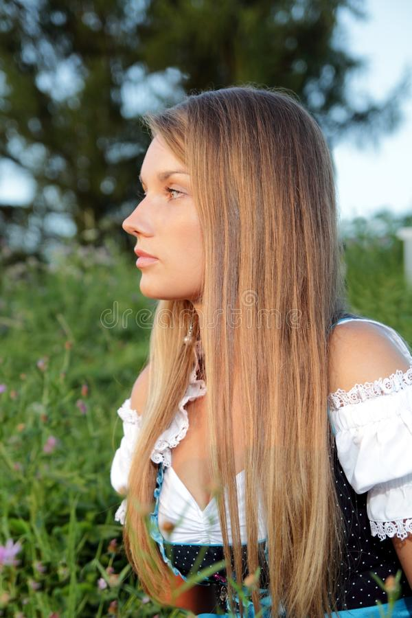 Download Bavarian Woman Fashion stock image. Image of girl, agriculture - 26609275