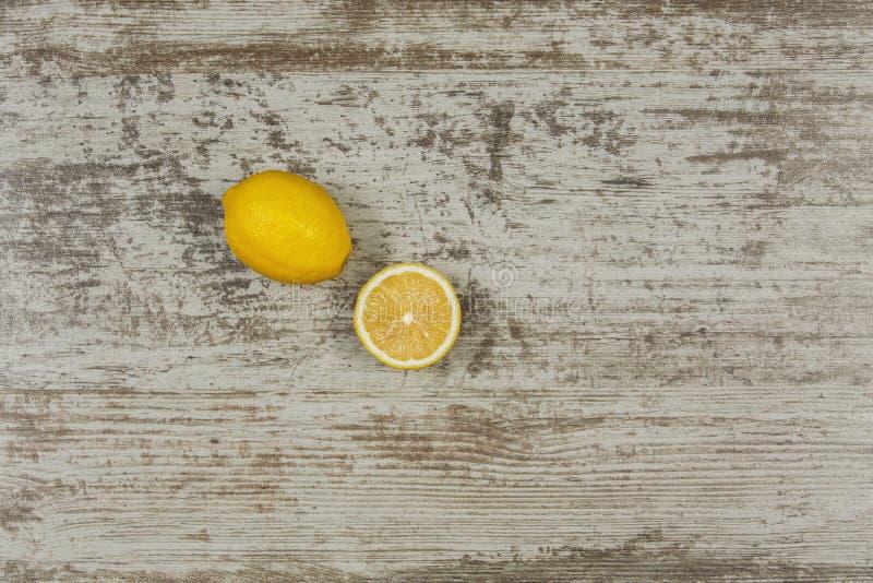 Bavkground avec des citrons photographie stock