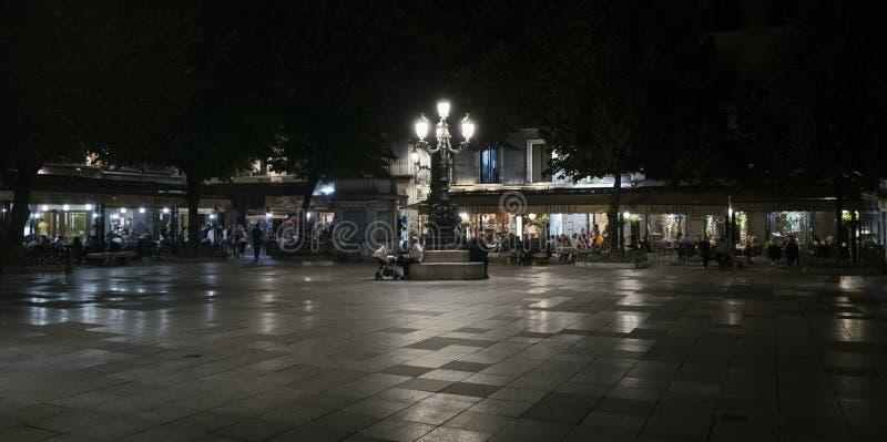 Bavoir Rambla, Grenade de plaza images libres de droits