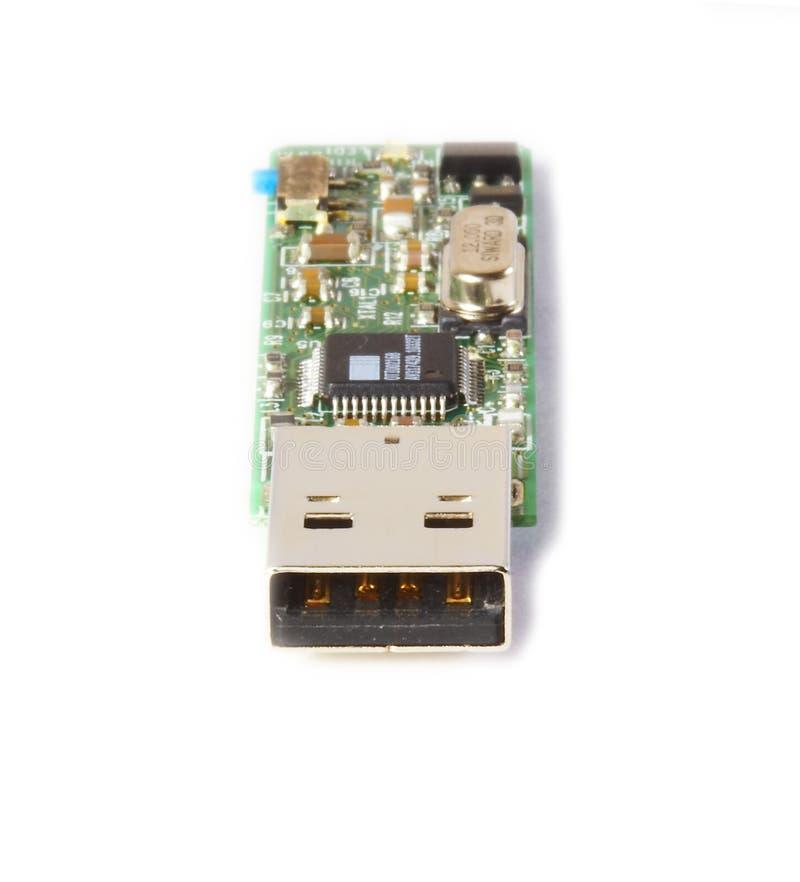 Bavure d'USB images libres de droits