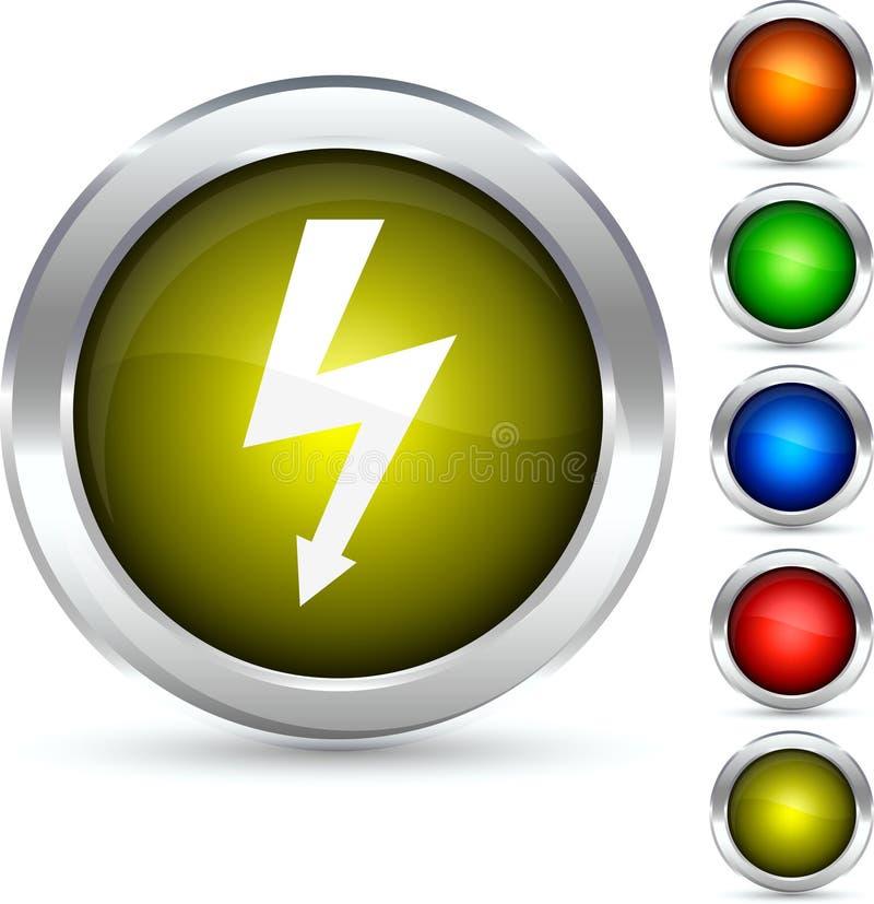 bavure de bouton illustration libre de droits