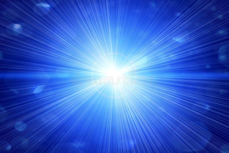 Bavure lumineuse ou une étoile illustration libre de droits