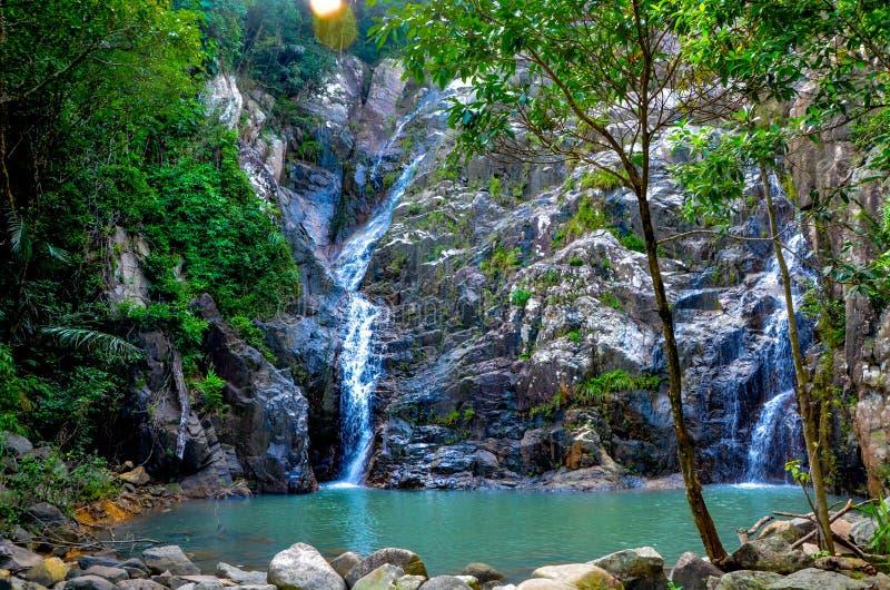 Bawangling in Hainan royalty free stock images