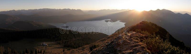 Download Bawarscy alps: Jochberg obraz stock. Obraz złożonej z natura - 28960071