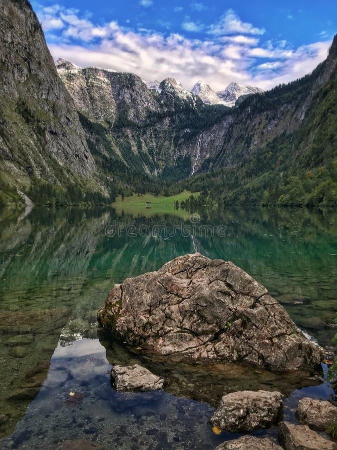 Bawarscy Alps w lecie zdjęcia stock