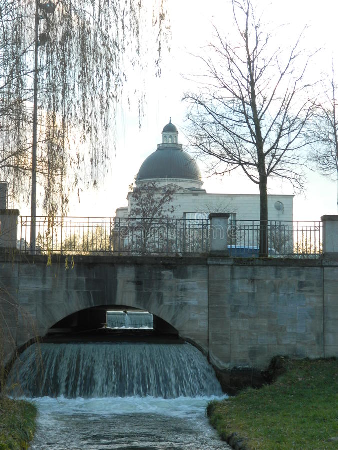 Bawarska stan kancelaria, Monachium obrazy royalty free