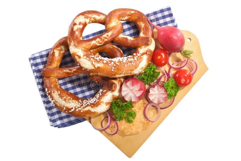 Bawarski śniadanie obrazy stock