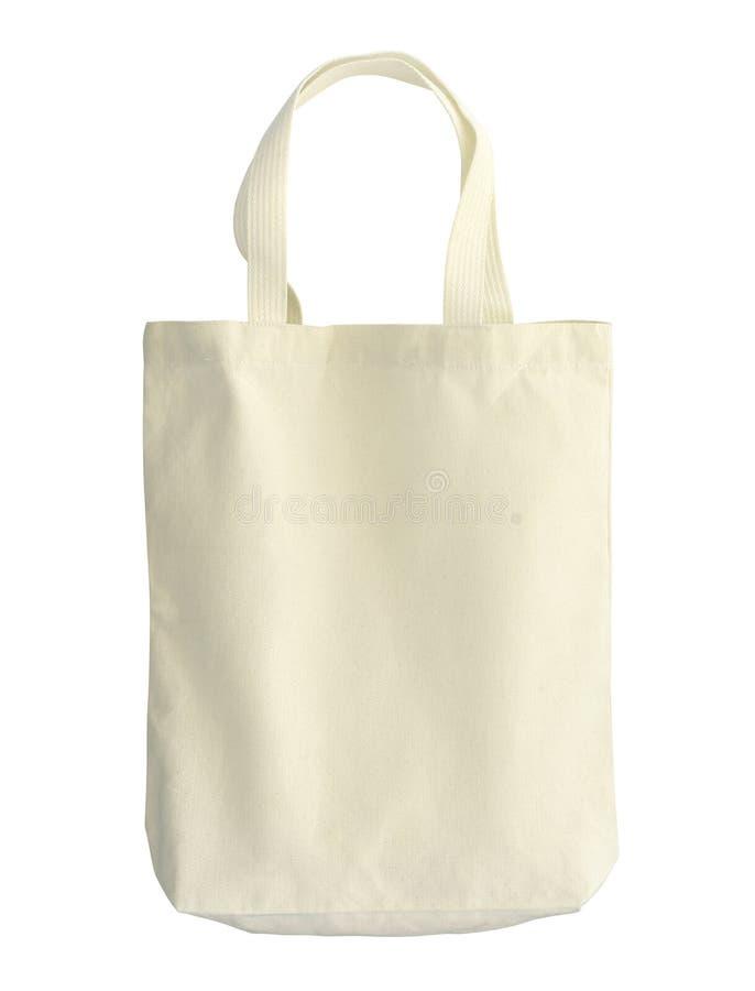 Bawełniana torba obrazy stock