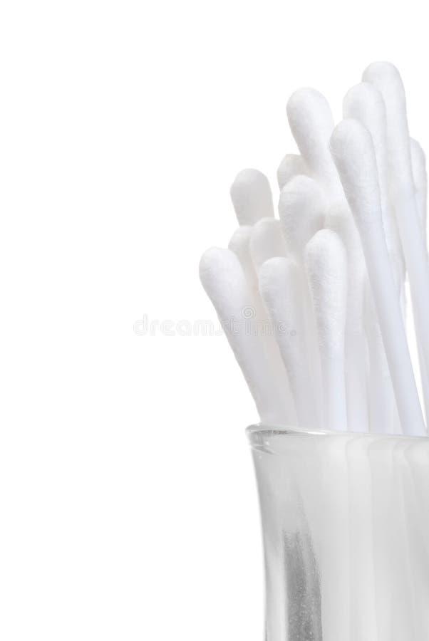 bawełniani dof szkła płycizny mopy zdjęcia royalty free