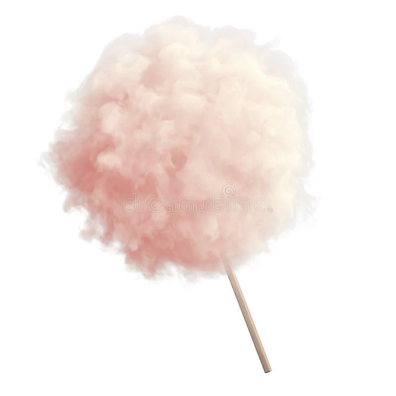 Bawełniany cukierek ilustracja wektor