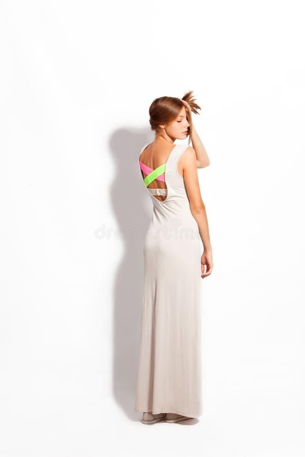 Download Bawełny suknia zdjęcie stock. Obraz złożonej z styl, widok - 26398064