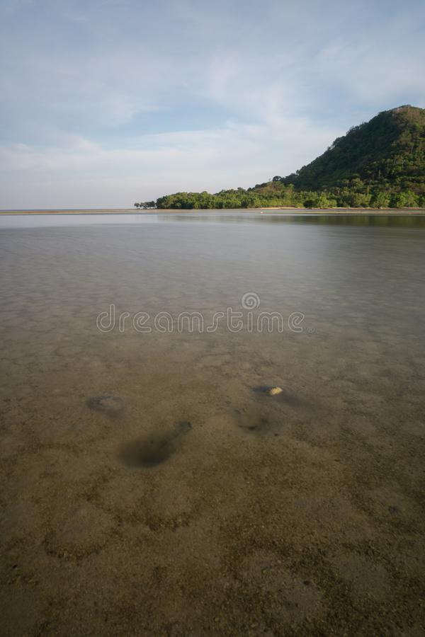 Bawean, Gresik, Indonésia imagem de stock