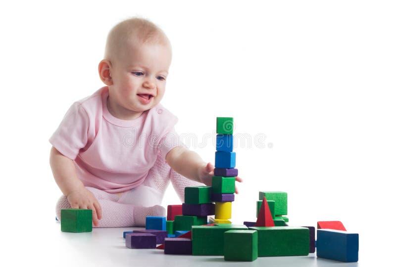 Bawić się dziecka zdjęcia stock