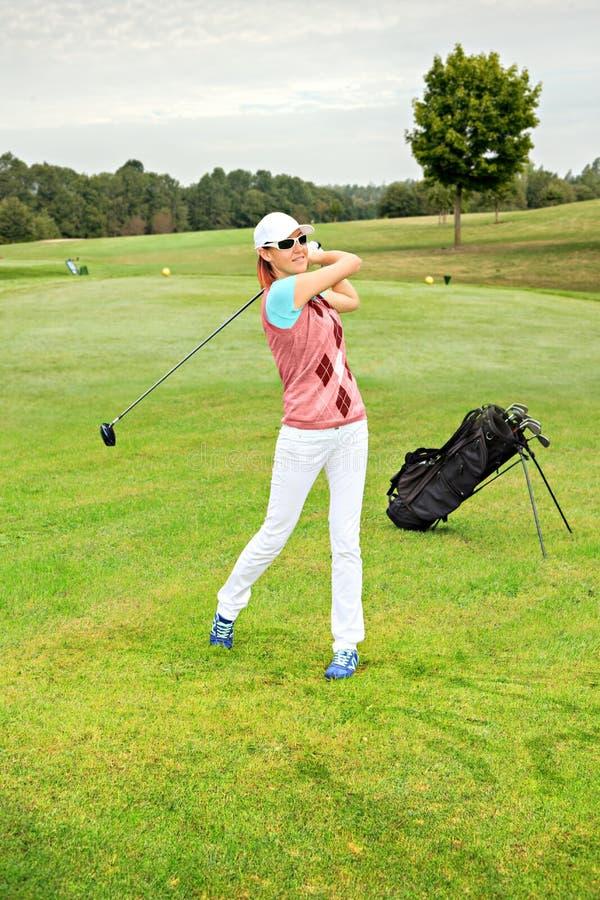 Bawić się golfa obrazy royalty free