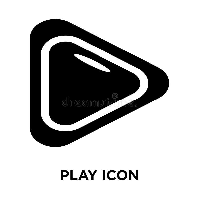 Bawić się ikona wektor odizolowywającego na białym tle, loga P pojęcie ilustracji